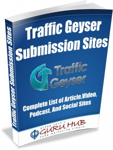 Traffic Geyser Book